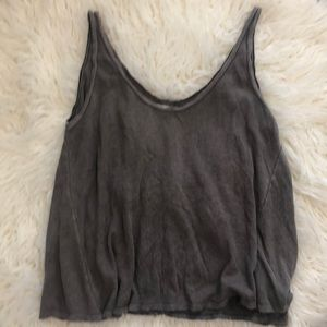 Nordstrom Cropped Tank Sz Small